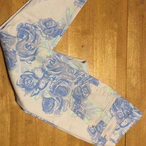 Celebrity Denim Rose Blue PANTS Stretch Skinny 5